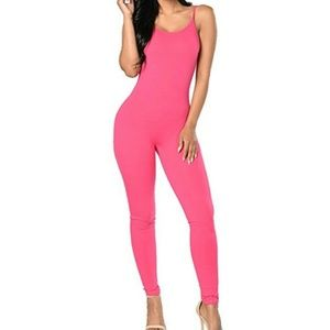 Other - Brand new Pink jumpsuit